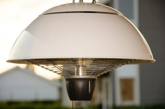 domed electric outdoor heater