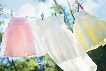 what-is-ultraviolet-light: clothesline in sun