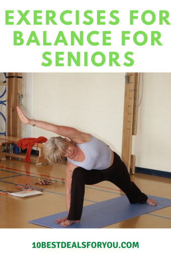 Exercises-For-Balance-For-Seniors: senior woman exercising