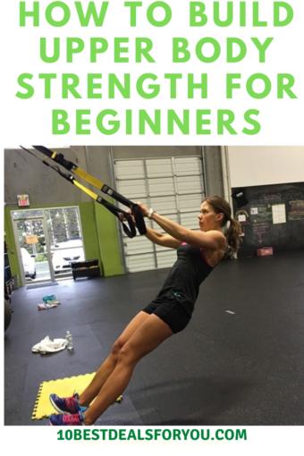 exercises improve-upper-body-strength - woman on TRX