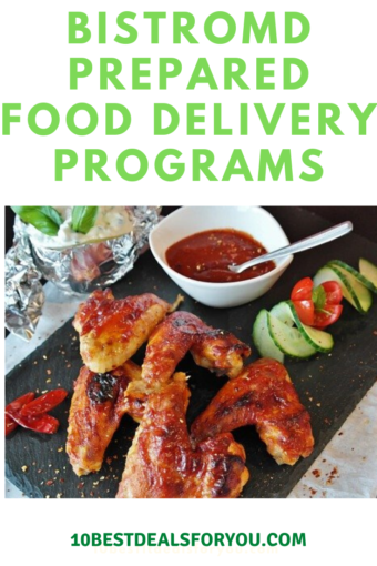 Preapred-food-delivery-programs:chicken wings meal