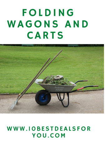 Folding Wagons And Carts: wheelbarrow