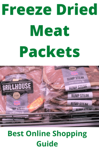 Freeze-Dried-Meat-Packets: meat packetss