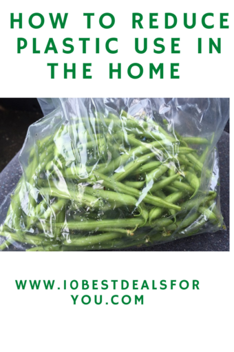 How-To-Reduce-Plastic-Waste-In-The-Home - green beans in plastic bag