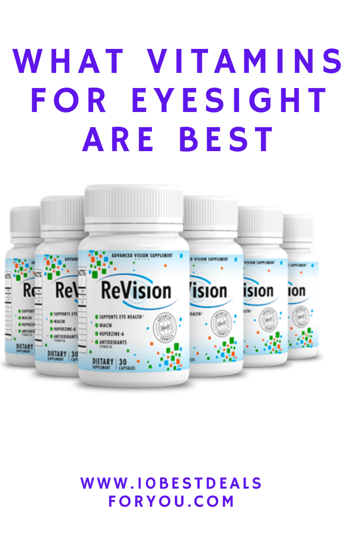 what vitamins for eyesight